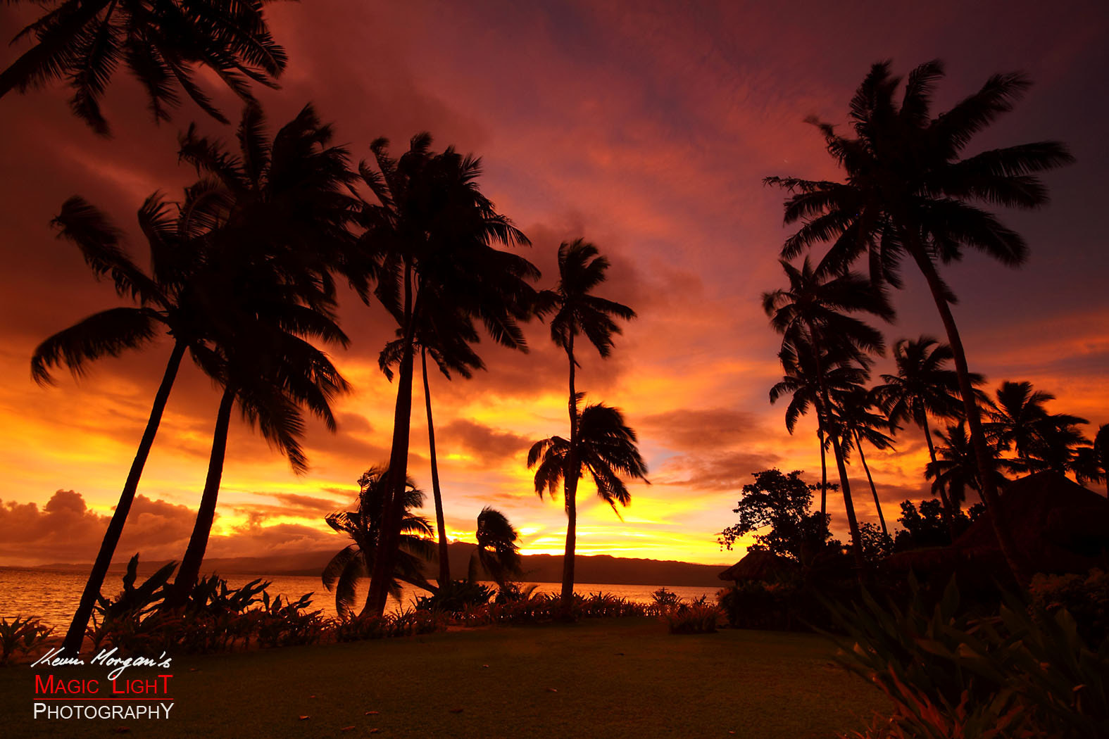 Photograph Qamea Sunset by Kevin Morgan on 500px