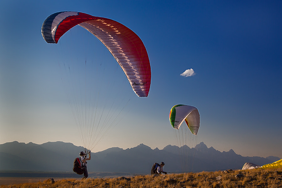 Teton Paragliders by Jerry Patterson on 500px.com