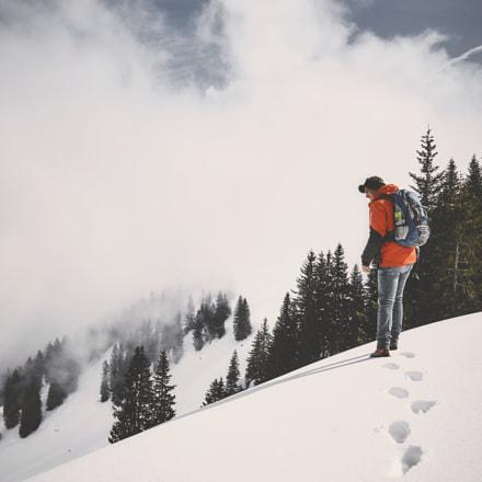 Inquire about new paths #tiefschnee #wandern #berge #mountaineering #alpen