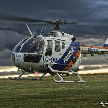 BO-105 Super Five Buenos Aires State Police