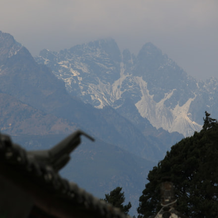mountains and heritage, Canon EOS M2, Canon EF-S 55-250mm f/4-5.6 IS STM
