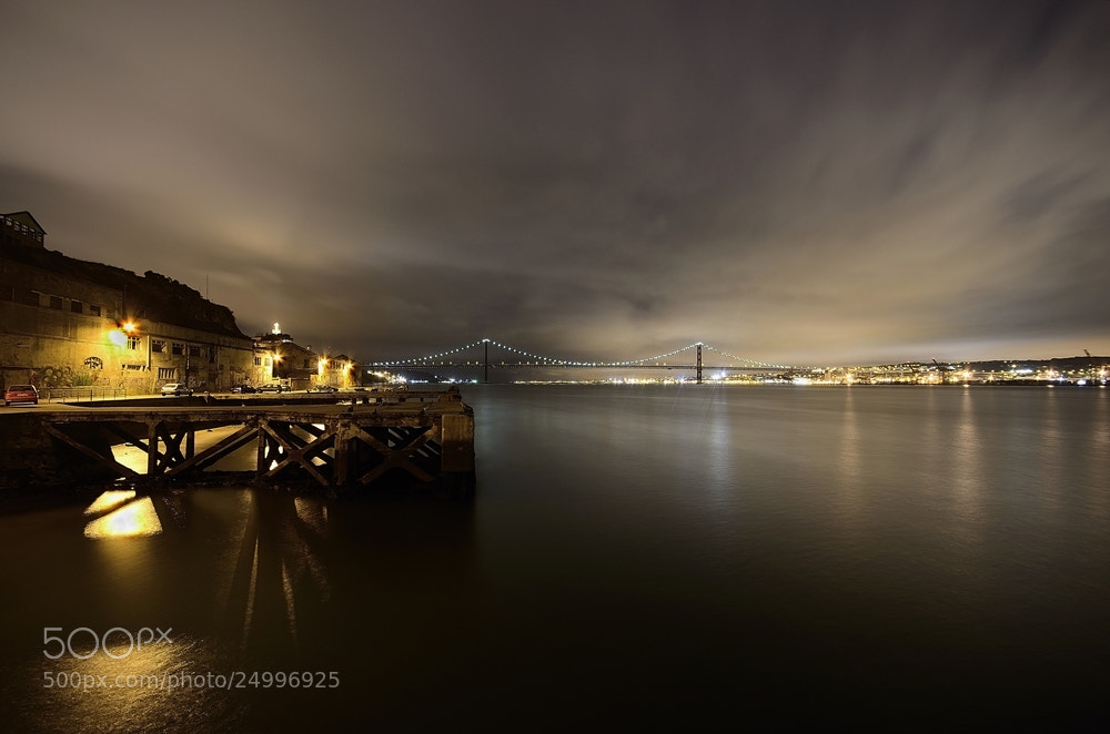 Photograph Tejo by night II by Rui Catarino on 500px