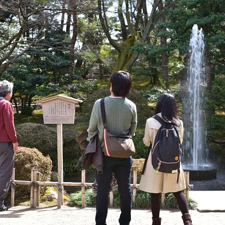 噴水 金沢兼六園, Nikon D750, AF-S Micro Nikkor 60mm f/2.8G ED