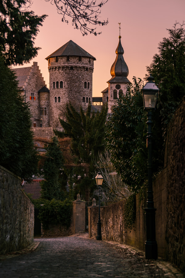 Medieval Sunset in Stolberg! by Benedikt S. on 500px.com