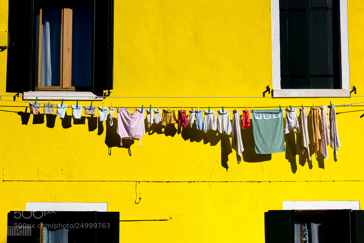 Photograph Yellow Burano by Mario De Leo on 500px