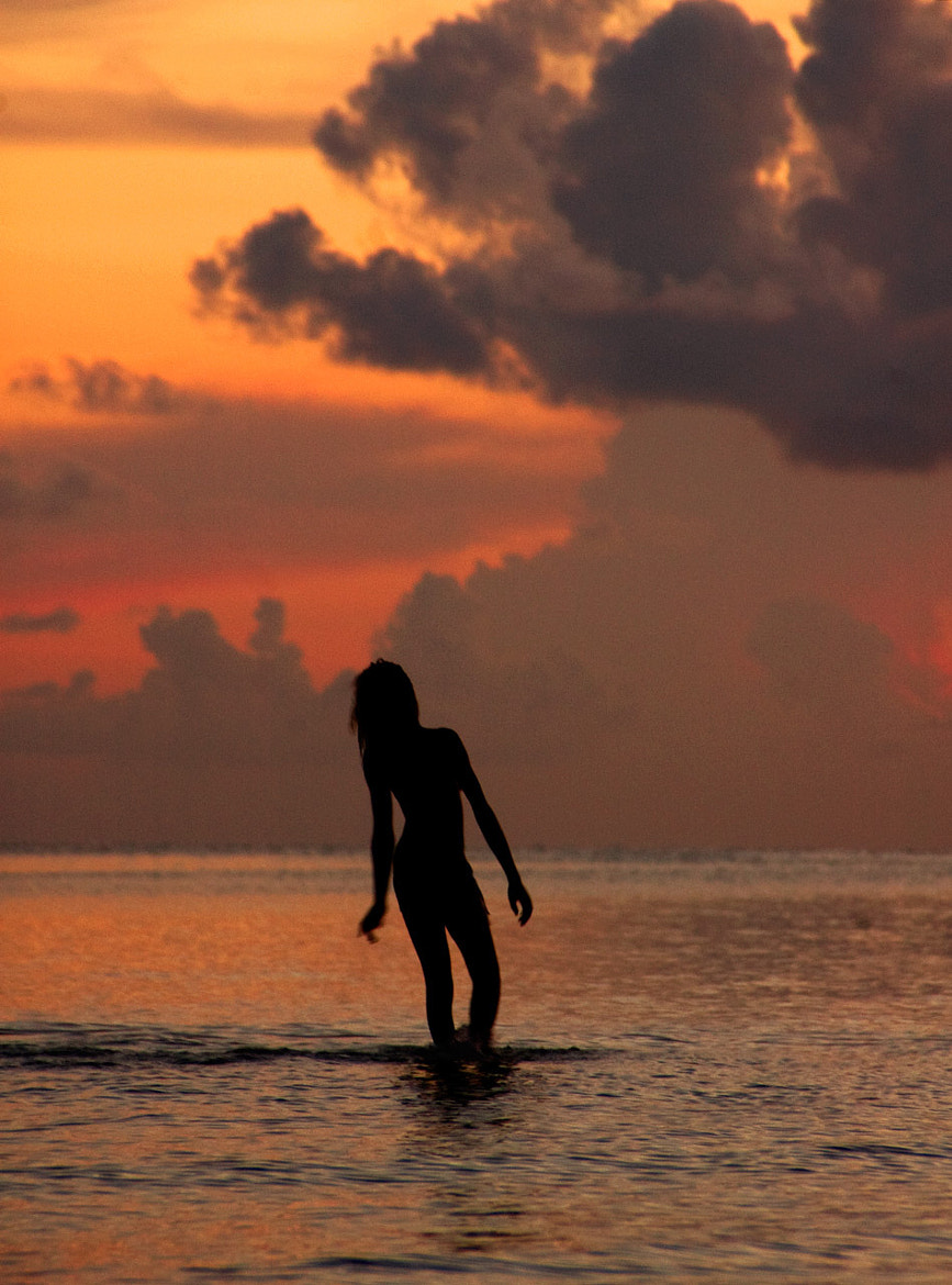 Photograph Bather at Sunset by Pat Burns on 500px