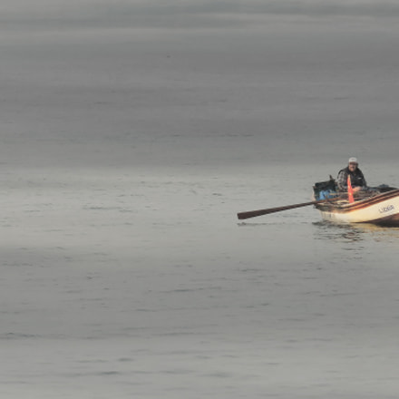 fisherman and boat, Canon POWERSHOT SX710 HS