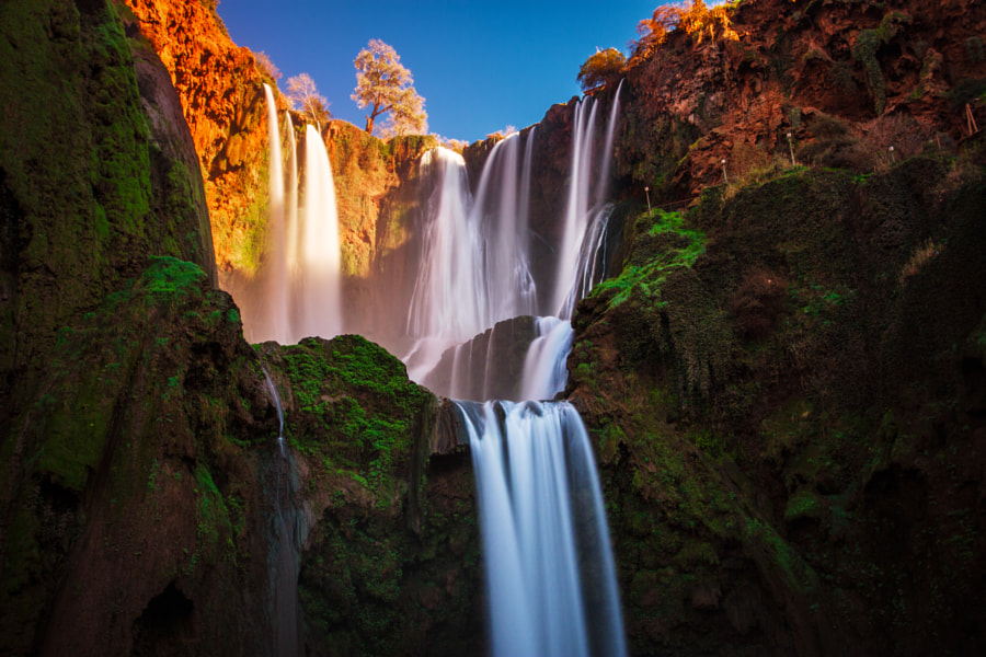 Ouzoud Cascades by Gabe Toth on 500px.com