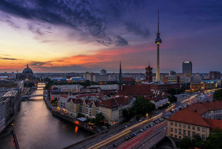 The Sky Over Berlin by Pasquale Di Pilato on 500px.com