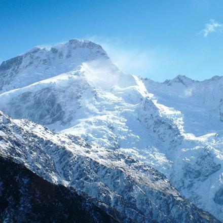 Mount Cook in late, Fujifilm FinePix S20Pro