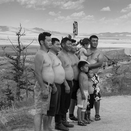 Mongolian Family, Canon EOS KISS DIGITAL N