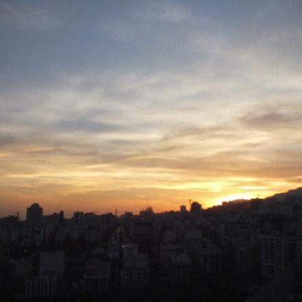 Tehran's Sunset, Fujifilm FinePix HS25EXR