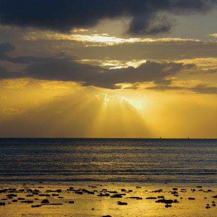 Beautiful sunrise, RICOH PENTAX K-70, smc PENTAX-DA 18-135mm F3.5-5.6 ED AL [IF] DC WR
