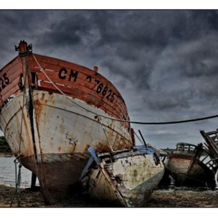 Boats cemetry, Nikon D300S, AF-S DX VR Zoom-Nikkor 16-85mm f/3.5-5.6G ED