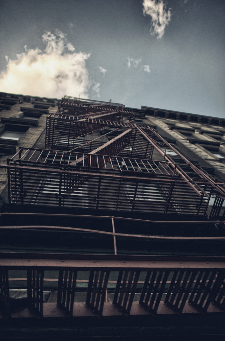 Photograph Fire Escapes by Tishan Baldeo on 500px
