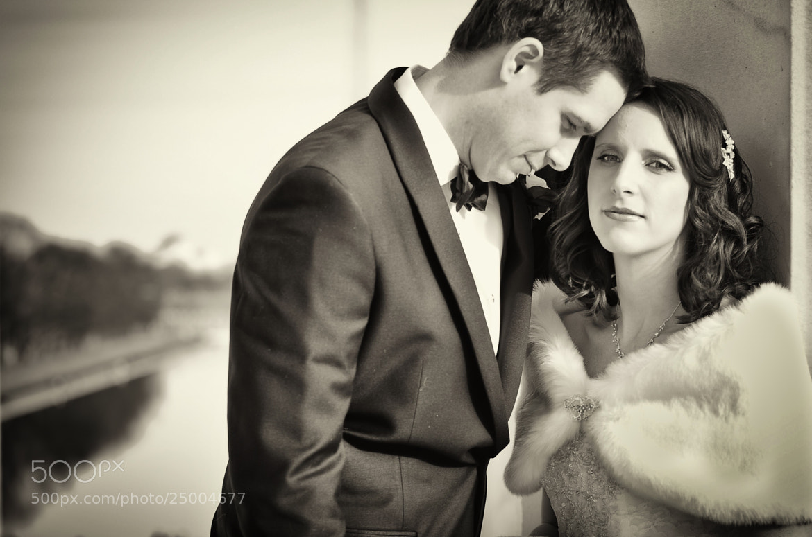 Photograph Winter Wedding by Chris and Brandy Gronde on 500px