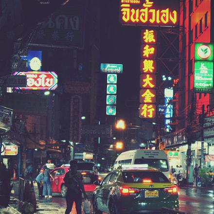 BKK Chinatown, Sony DSLR-A580, Sony DT 35mm F1.8 SAM (SAL35F18)