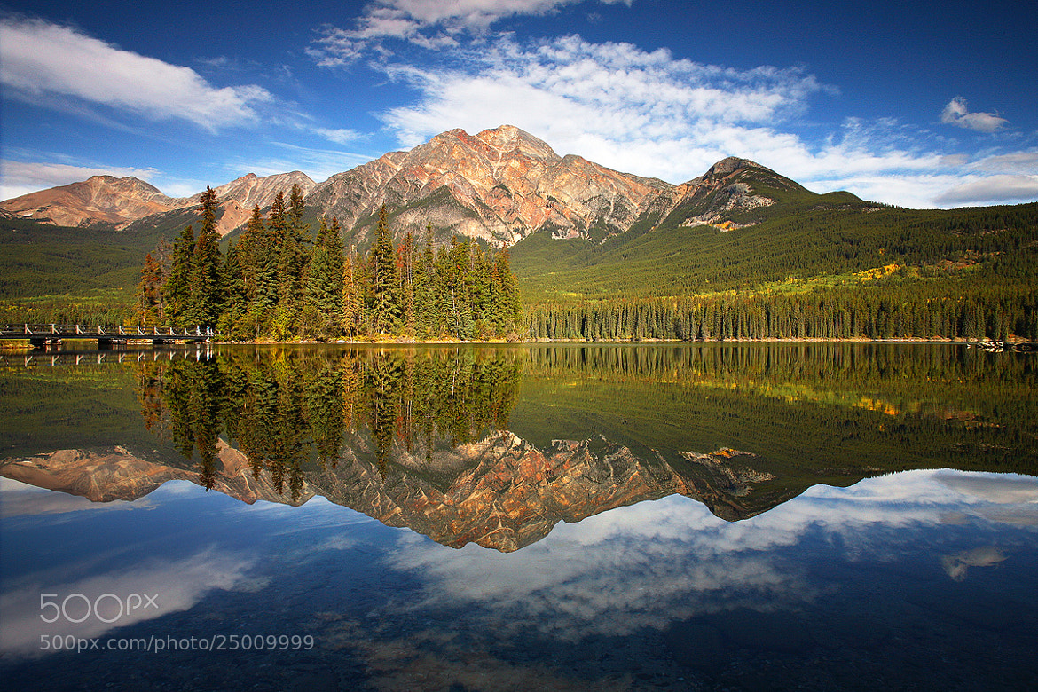 Photograph Pyramid Mountain by Phillip Norman on 500px