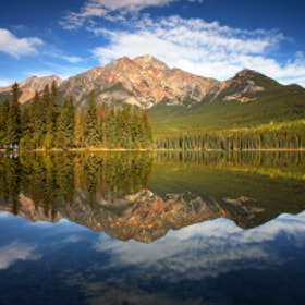 Pyramid Mountain by Phillip Norman (philnormanphoto)) on 500px.com