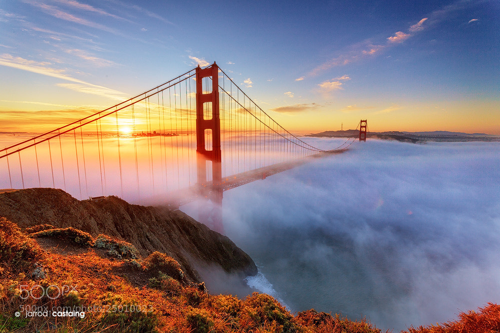 Photograph Golden Gate Bridge by Jarrod Castaing on 500px