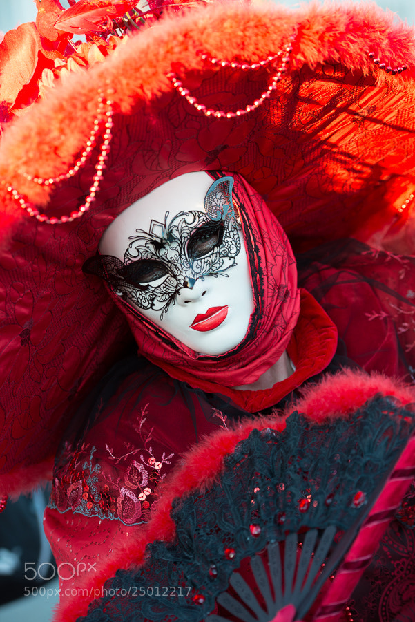 Photograph Carnival Masks Venice by Lisa Osta on 500px