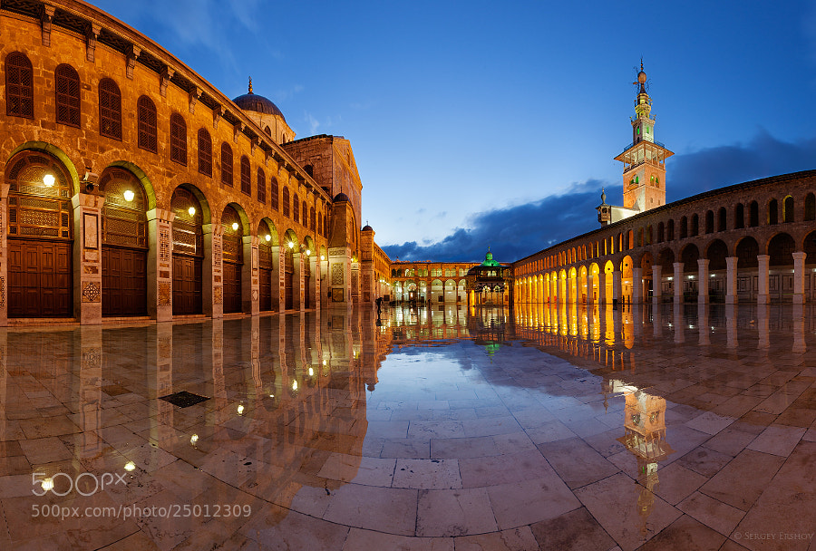 Photograph Umayyad Mosque, Damascus, Syria by Sergey Ershov on 500px