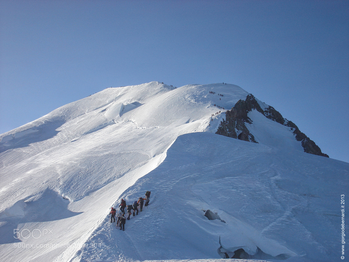 Photograph Ascent of Mont Blanc 4810 mt by giorgio debernardi on 500px