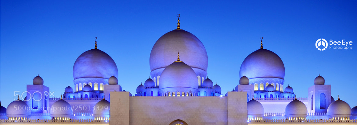 Photograph Sheikh Zayed Grand Mosque by Bee Eye on 500px