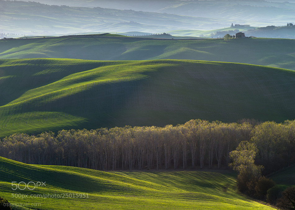 Photograph Tuscany sunrise by Pavel Oskin on 500px