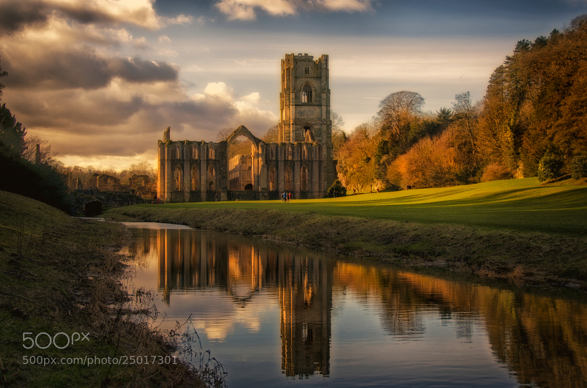 Photograph Path to the Abbey by Phil Robson on 500px