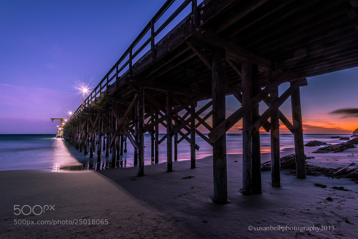 Photograph Gaviota Pier by Susan Bell  on 500px