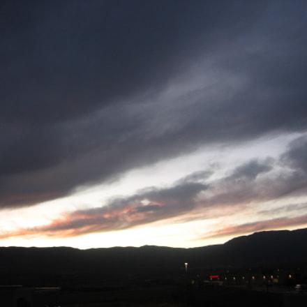 Sunset, Canon POWERSHOT A510