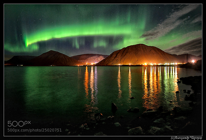 Photograph Aurora polaris by Alexandr Chernukho on 500px