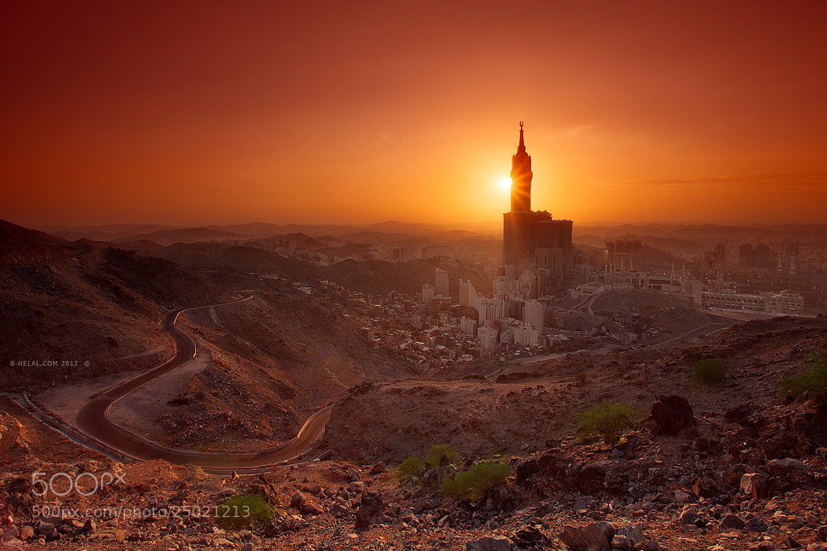 Photograph Golden Makkah by Naja Helal on 500px