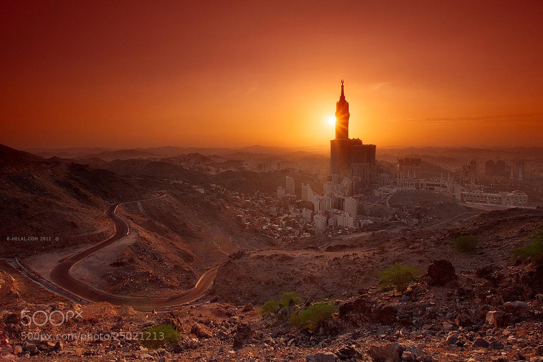 Photograph Golden Makkah by Naja Helal on 500px