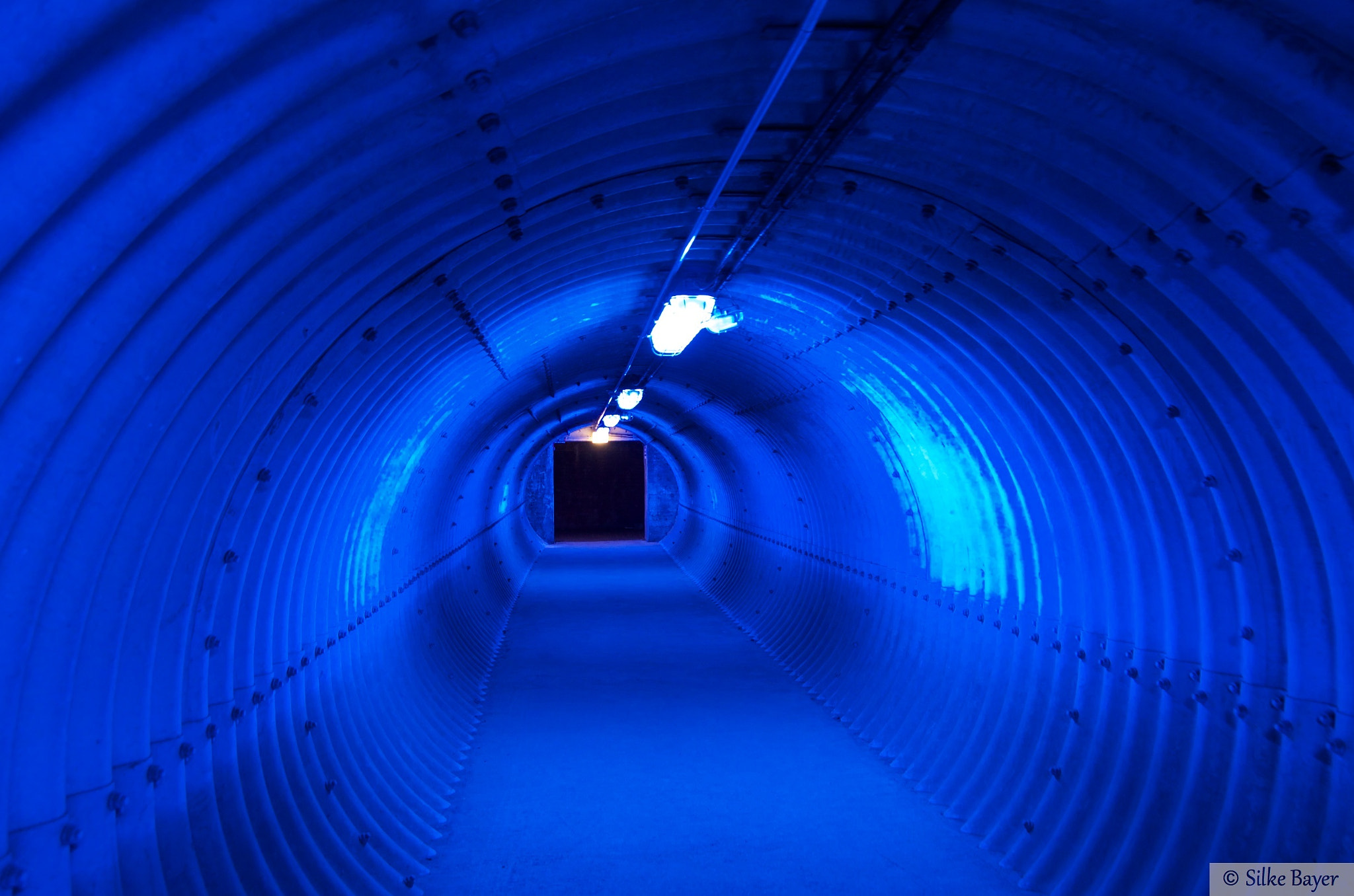Photograph Blauer Tunnel by Silke Bayer on 500px