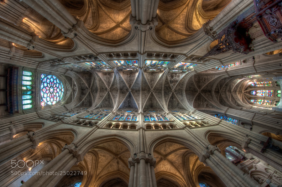 Photograph kaleidoscopic vaults by Alex Notag on 500px