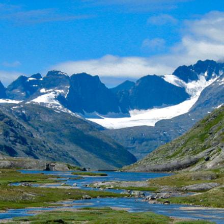 Norways Alps 1, Canon POWERSHOT G2