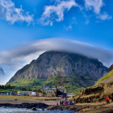Mount Sanbang in a, Nikon D5500, Tamron AF 16-300mm f/3.5-6.3 Di II VC PZD (B016)