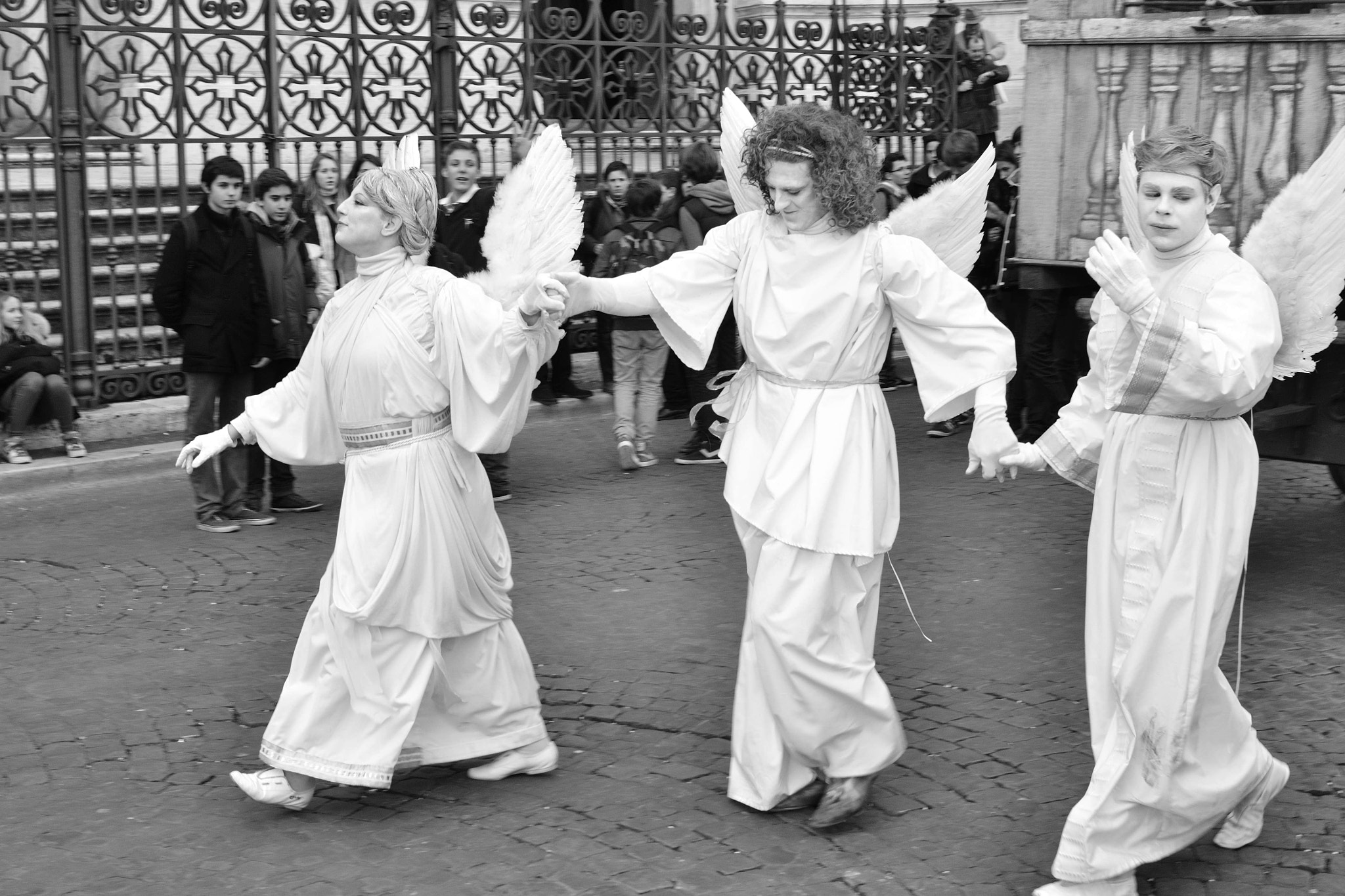 Photograph Angels in Rome by Valerio Gori on 500px