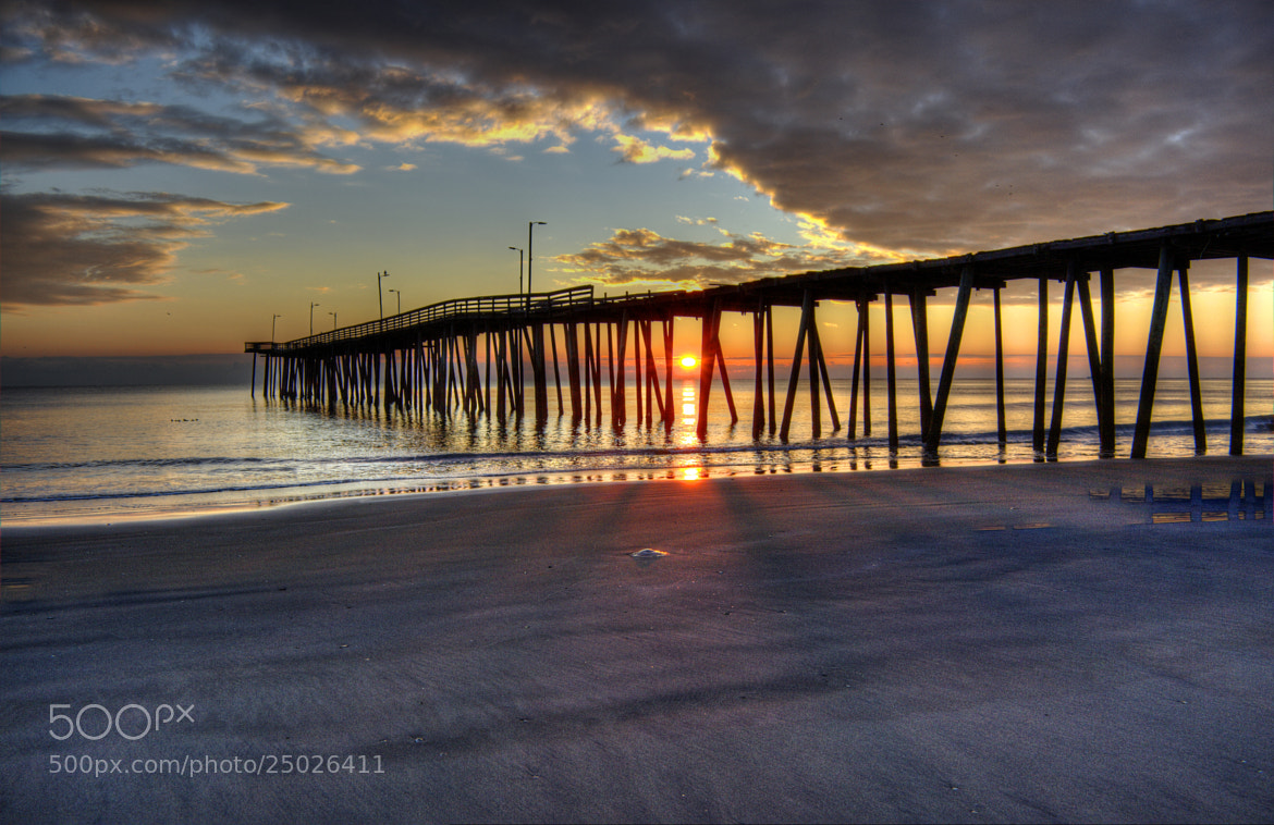 Photograph Virginia Beach Sunrise by James Gramm on 500px