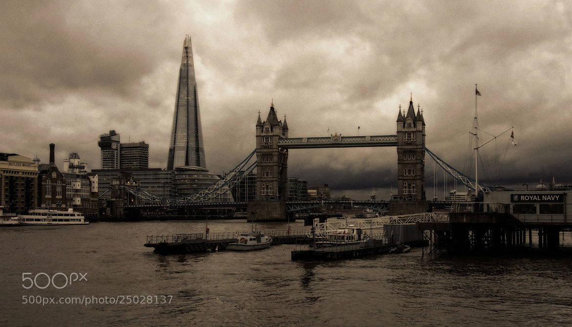 Photograph Grey skies over London by John Purchase on 500px