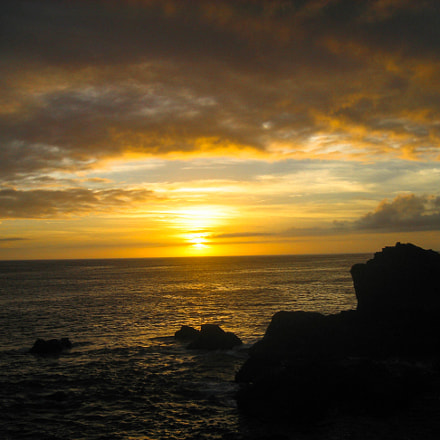 Sunset in Kozoushima, Canon IXY DIGITAL 60