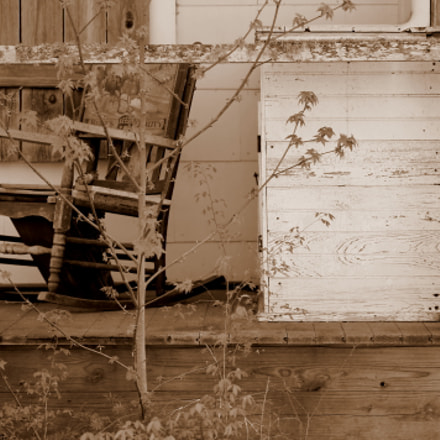An Abandoned Home in, Canon EOS REBEL T3, Canon EF-S 55-250mm f/4-5.6 IS II