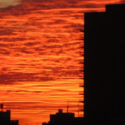 lava sunset, Panasonic DMC-TZ55