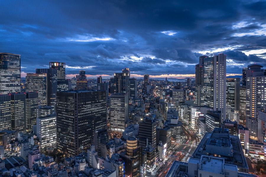 500px.comのYuu PhotoさんによるOSAKA JAPAN