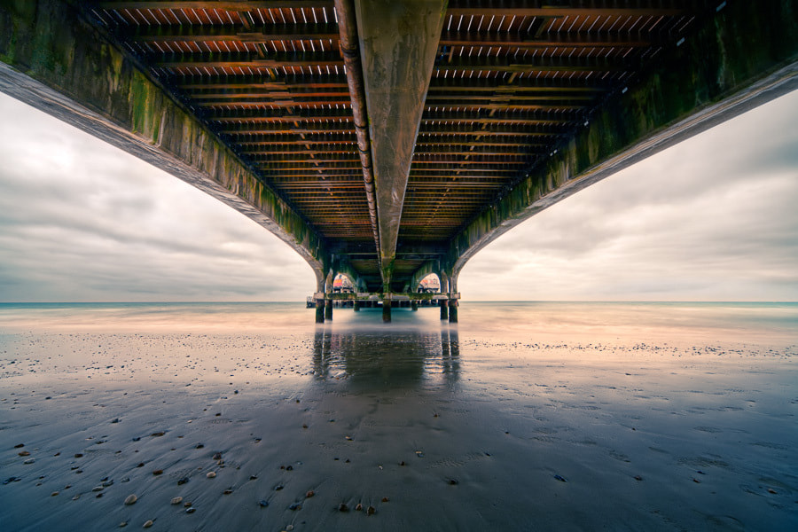 Photograph Underneath Bournemouth Pier by Deceptive Media on 500px