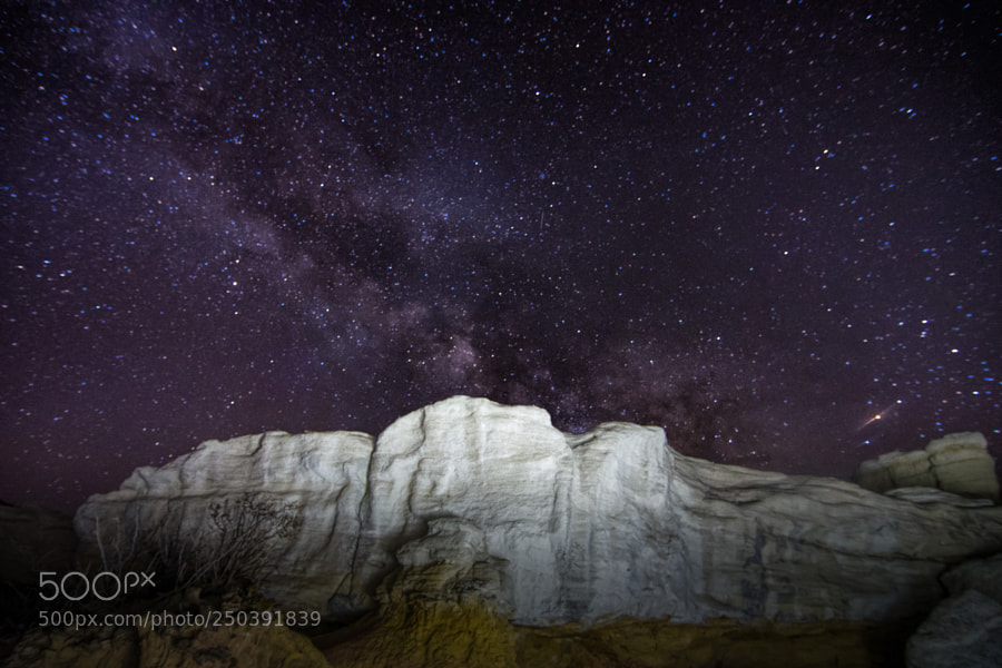 The Milky Way at the Paint MInes
