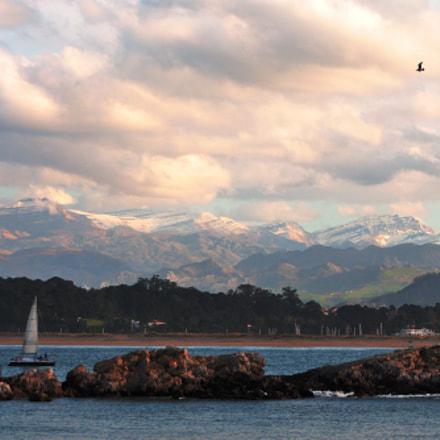 Mar y nieve, Nikon D90, AF Zoom-Nikkor 28-80mm f/3.5-5.6D