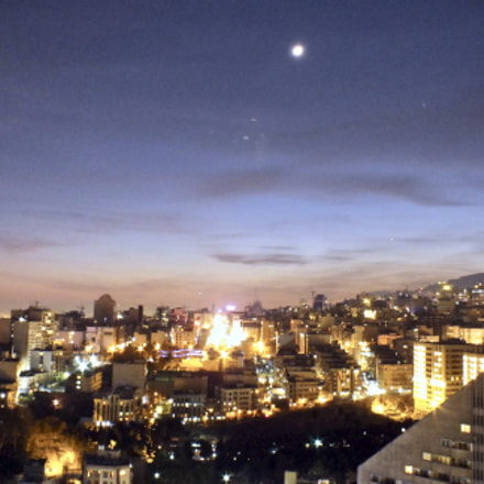 Tehran's Night, Fujifilm FinePix HS25EXR